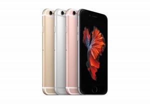 Les magnifiques nouveaux iPhone 6S.