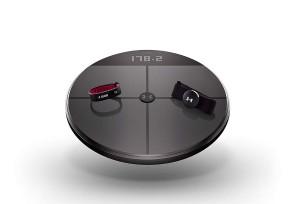HTC lance une HelathBox comprenant un bracelet connecté, un cardio-fréquencemètre et une balance connectée...