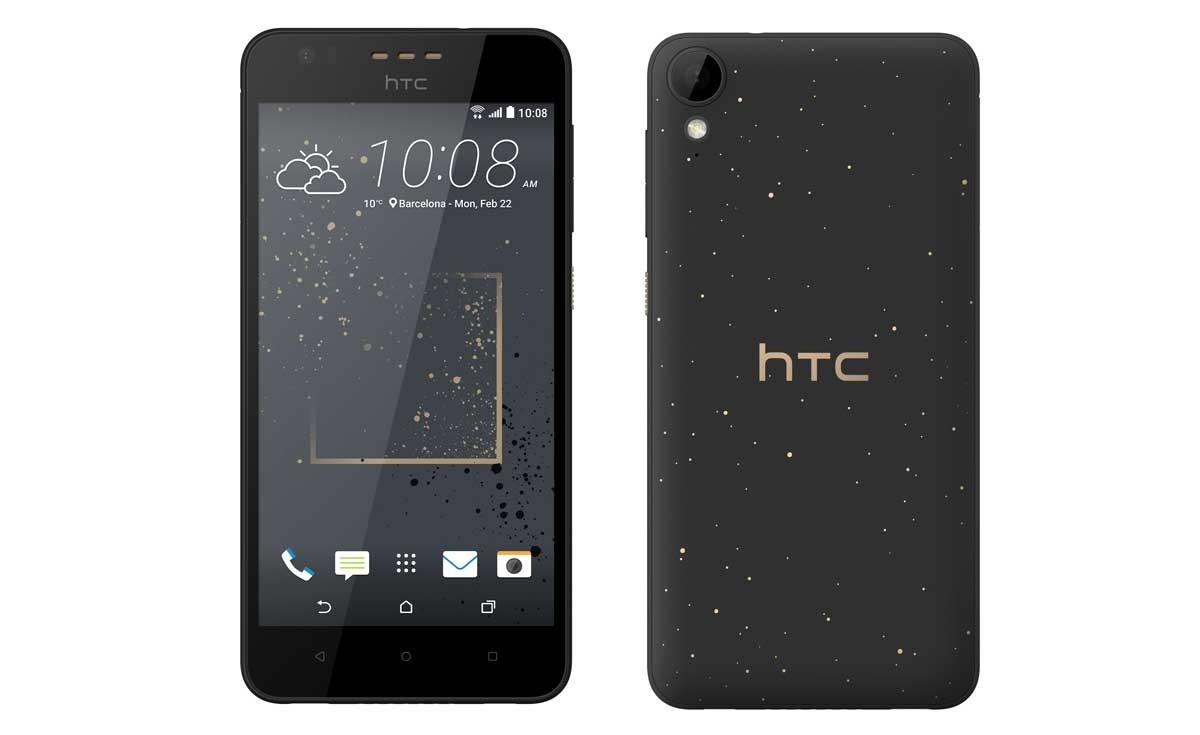 Le HTC Desire 825.