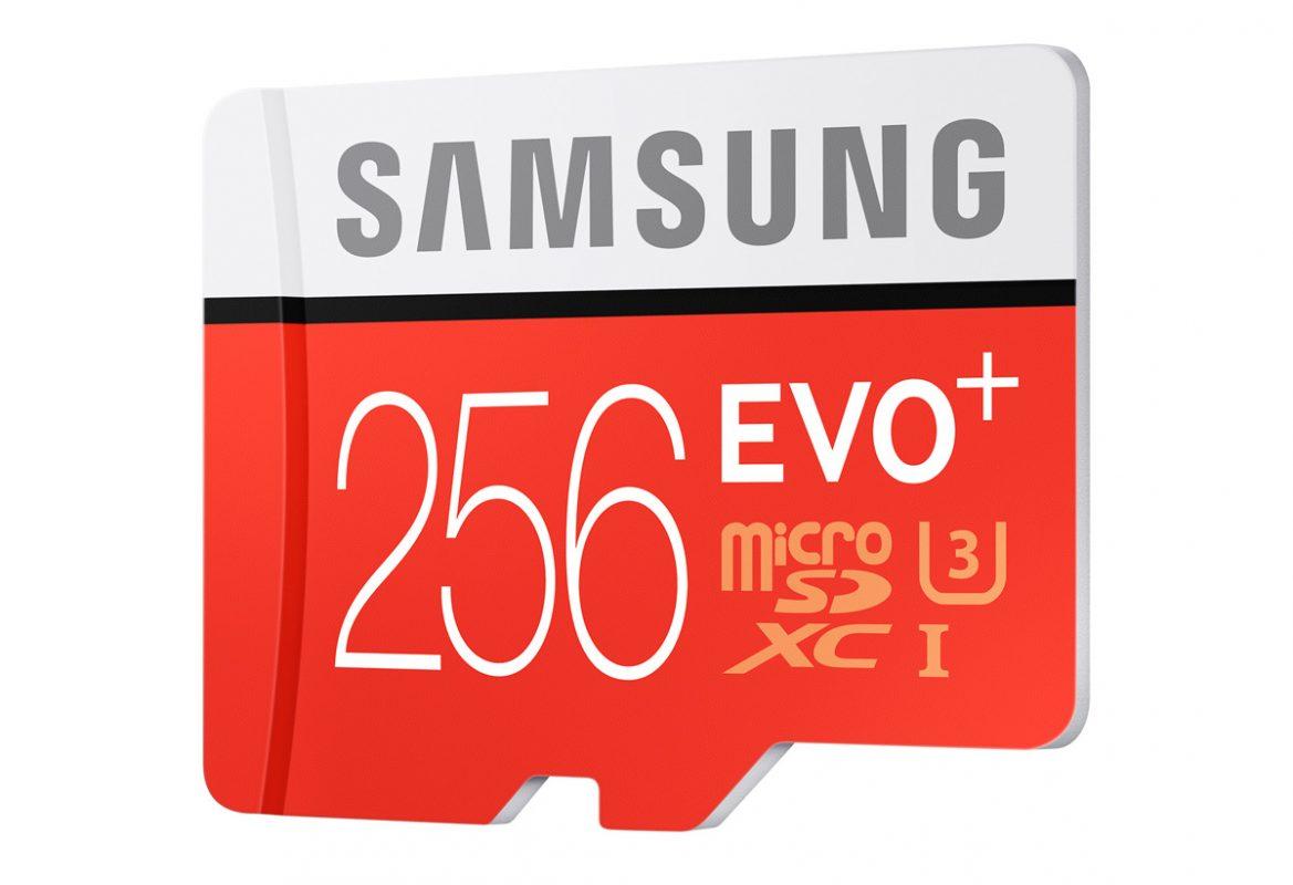 Samsung micro-SD EVO Plus 2Samsung micro-SD EVO Plus 256 Go.56 Go.