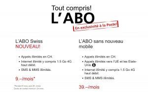 L'Abo Swiss à 29 francs par mois.