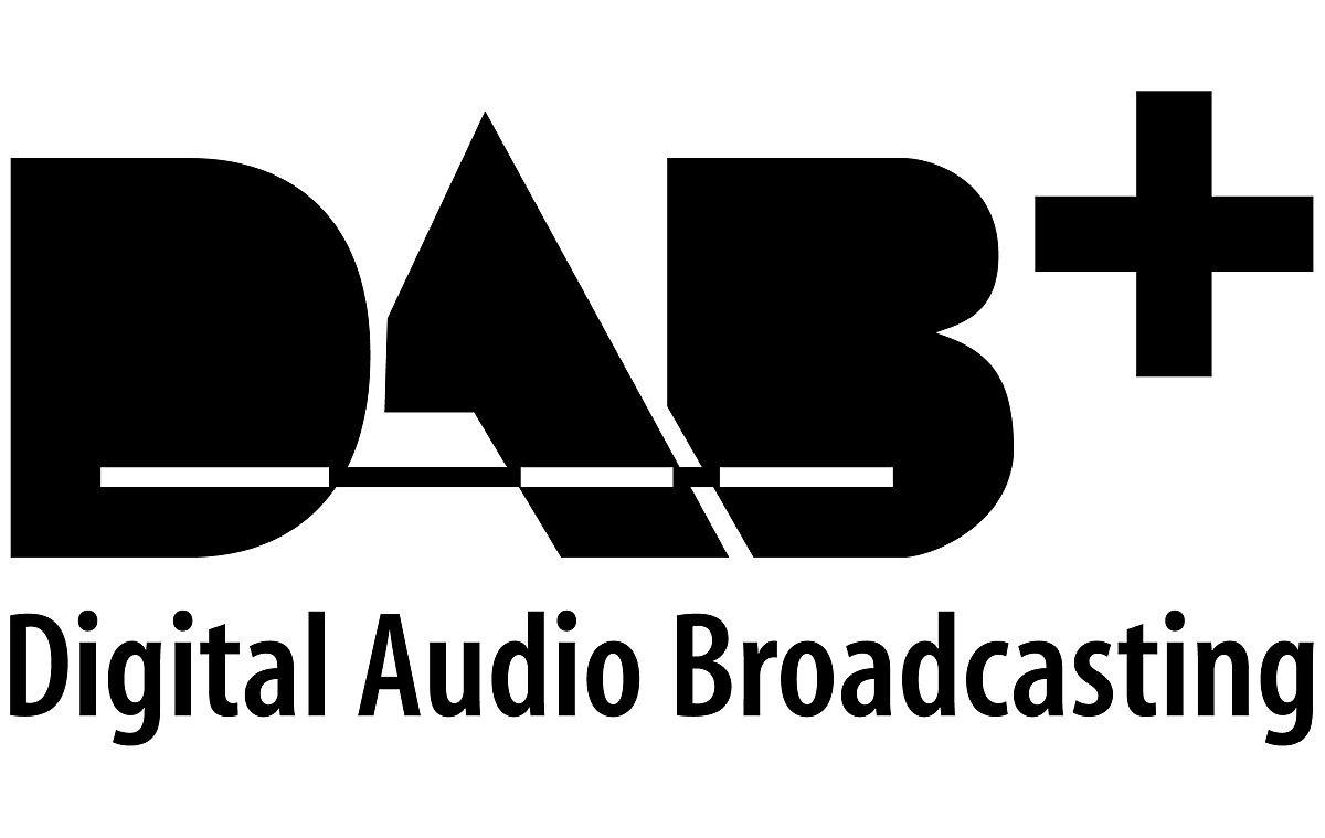Le logo du DAB+.