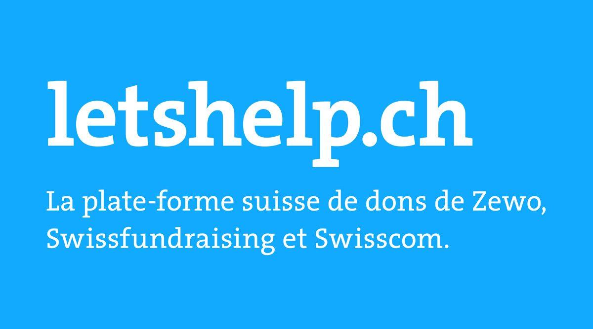 Letshelp.ch.