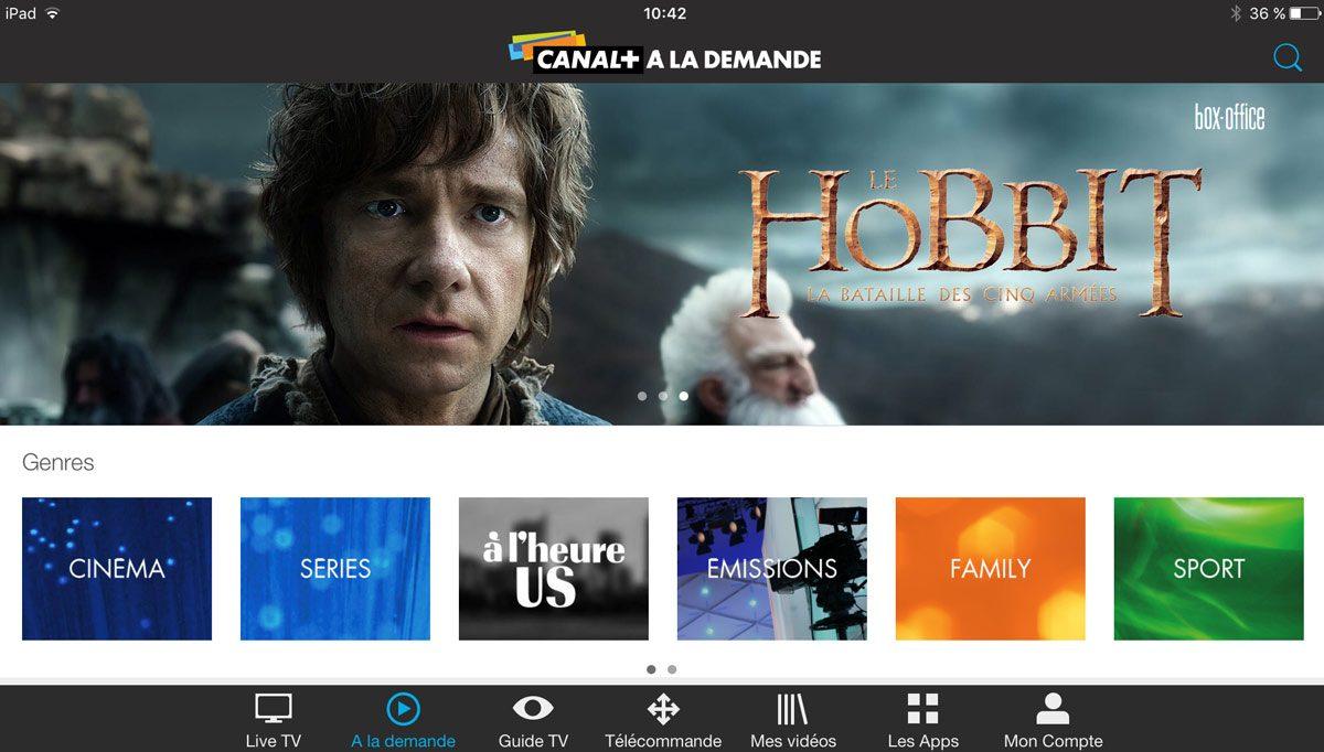 MyCanal disponible chez Swisscom et Sunrise.