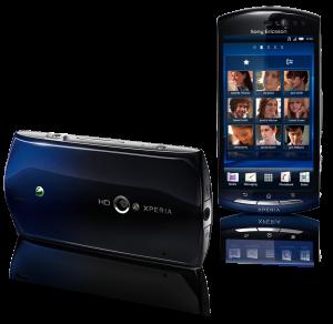 L'Xperia Neo, son capteur Exmor et son écran Bravia Engine.