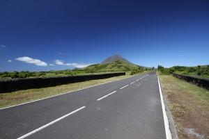 Le Pico dans l'archipel des Açores.