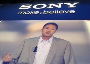 Kazuo Hirai, PDG de Sony à Berlin.