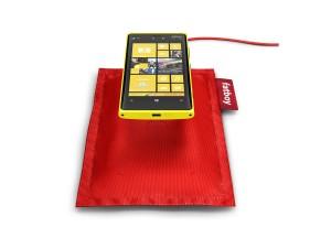 Le Lumia 920 de Nokia peut se recharger sans fil...