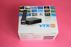Le nouveau boîtier VTX TV.
