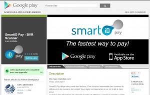 L' application SMART ID Pay pour ses BVR: la claque!