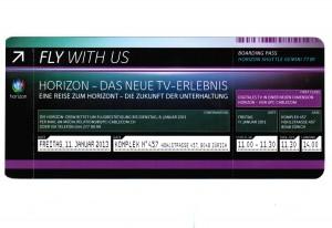 Horizon sera dévoilé le 11 janvier à Zurich.
