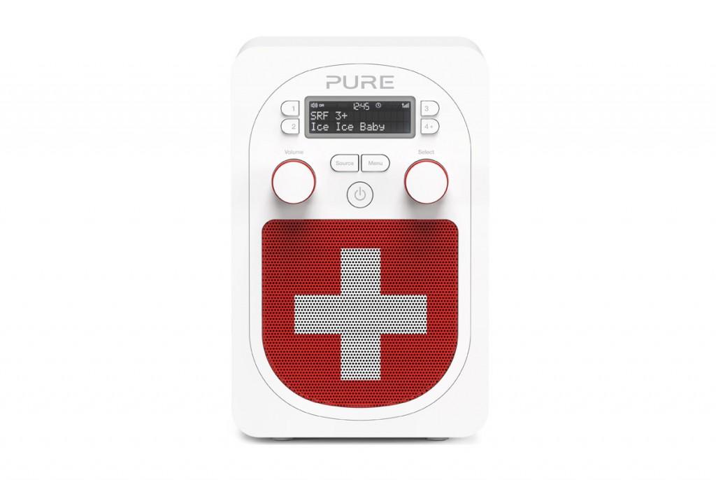 La radio DAB+ Pure Evoke D2 Bluetooth.