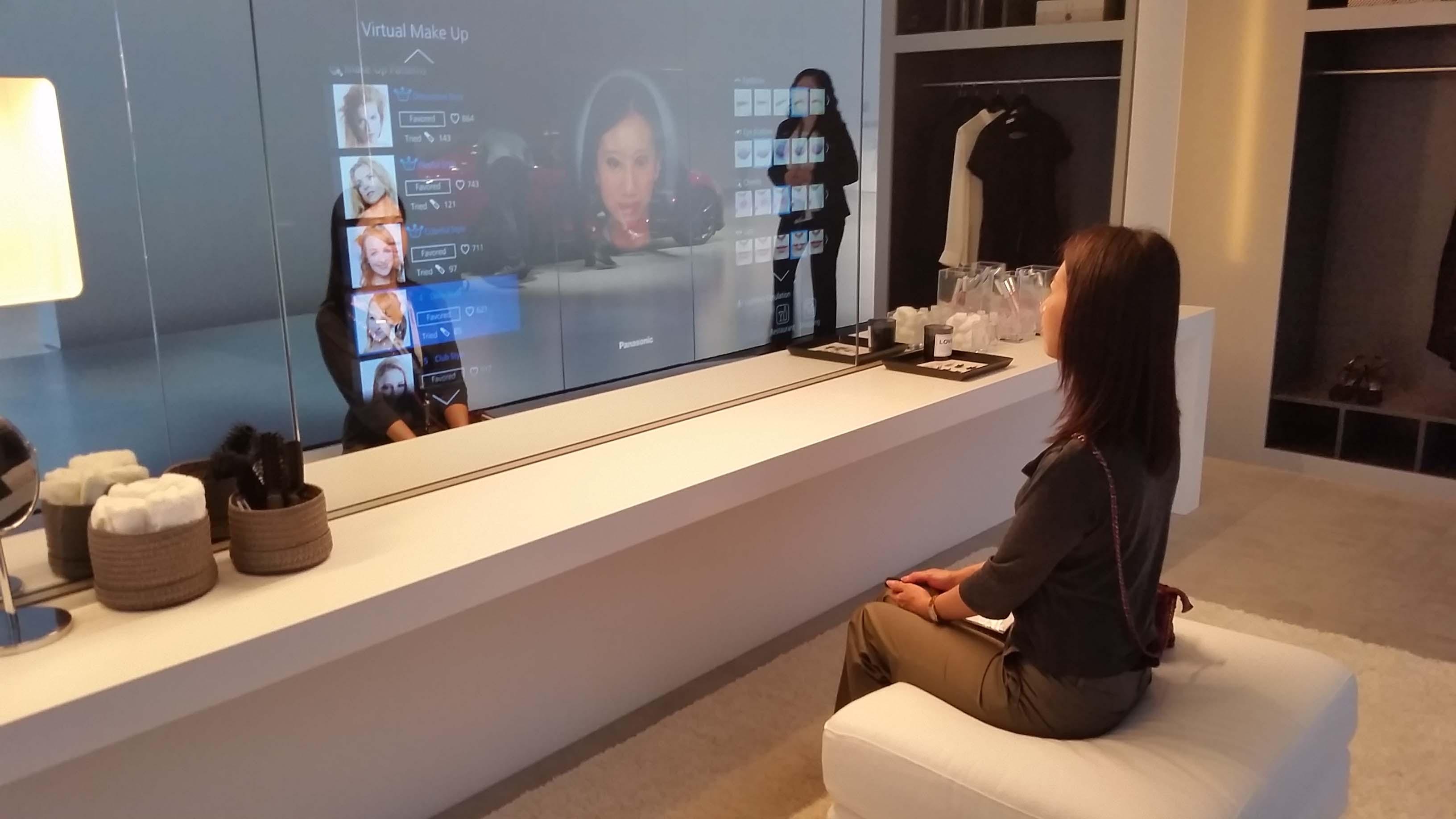 Ifa 2014 la r alit virtuelle dans votre chambre coucher - Miroir dans chambre a coucher ...
