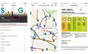 Lausanne booste son application pour iPhone.