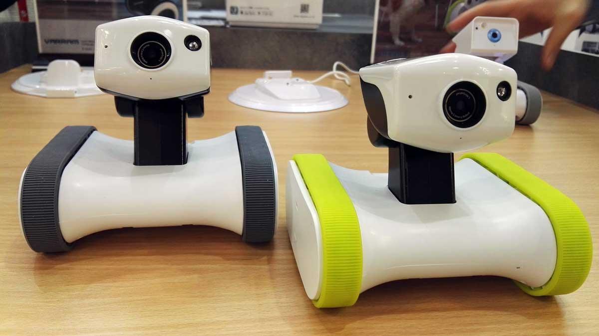 mwc 2016 voici le robot de surveillance pilot par smartphone. Black Bedroom Furniture Sets. Home Design Ideas