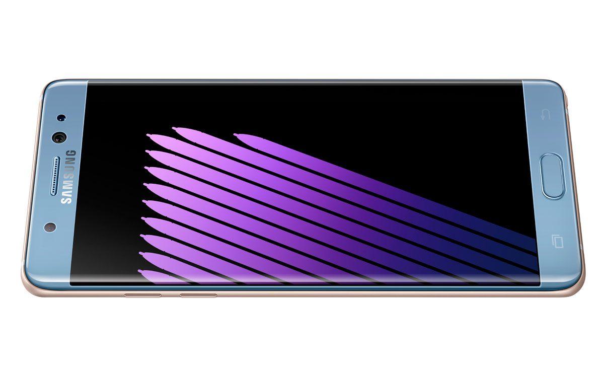 Le Samsung Galaxy Note 7.