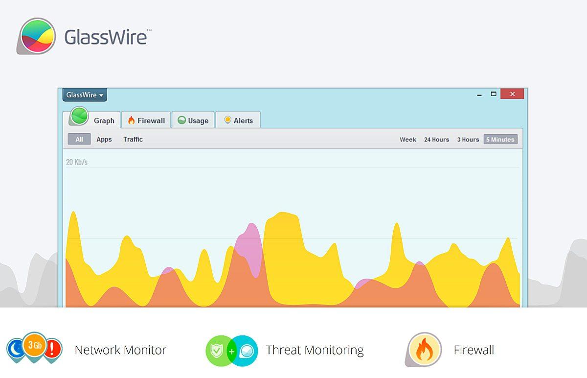 GlassWire: pour tout savoir de son réseau...