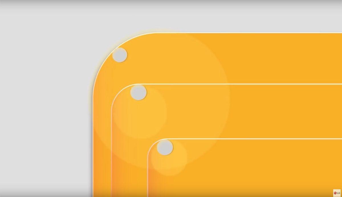 La nouvelle interface utilisateur du LG G6 serait tout en «carrés»...