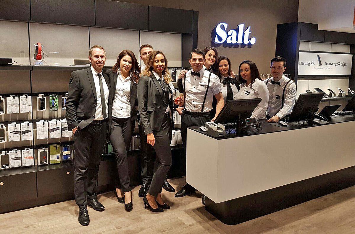 Salt a inauguré mercredi son nouveau magasin sur la Bahnhostrasse à Zurich.