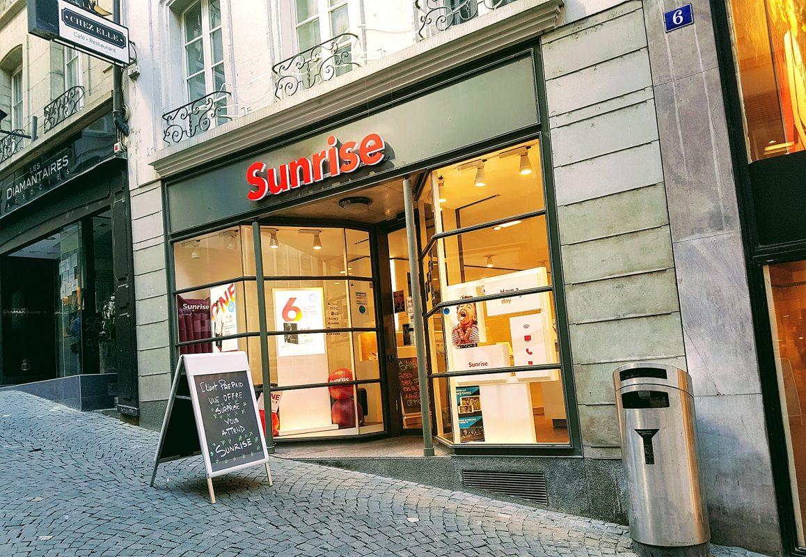Sunrise revendique le meilleur réseau mobile de Suisse, comme Swisscom...
