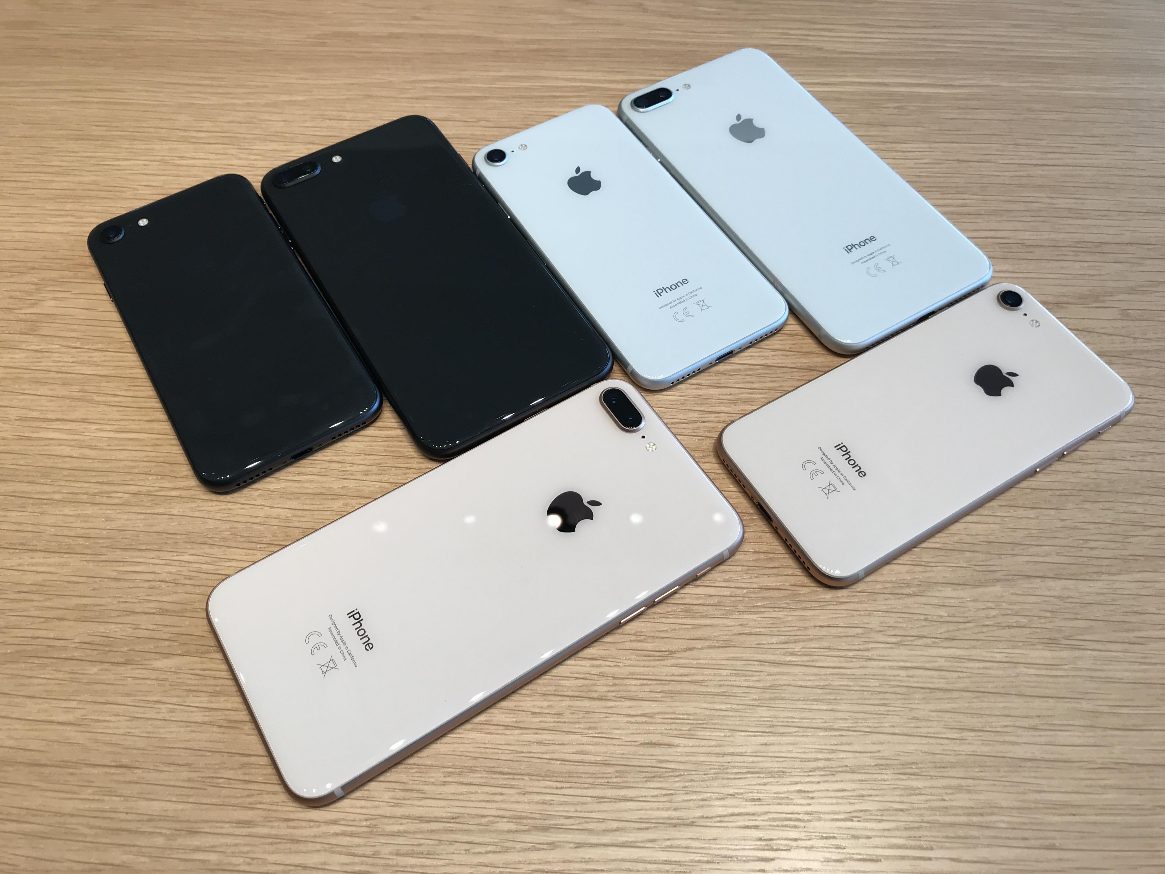 iphone 8 plus et apple watch series 3 prise en main et. Black Bedroom Furniture Sets. Home Design Ideas